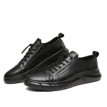 NEW Men Casual Shoes Mens Leather Sneakers Big Size 38-48 for Men Shoes Men Fashion Flats Brand Fashion Zapatos De Hombre *S19