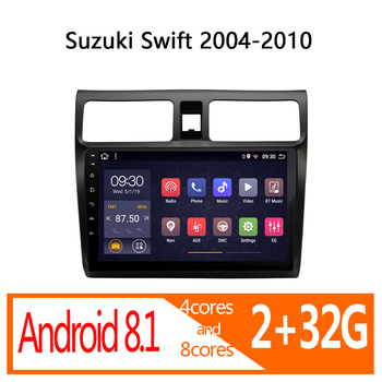 radio coche 2+32G android for Suzuki Swift 2004 2005 2006 2007 2008 2009 2010 autoradio car audio coche stereo auto player atoto image