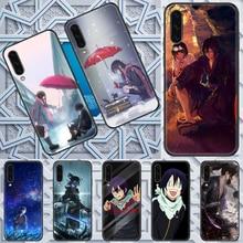 Yato Noragami Anime caso de Telefone Para Samsung Galaxy UM 3 5 7 8 10 20 21 30 40 50 51 70 71 E S 2016 2018 4G preto shell pintura