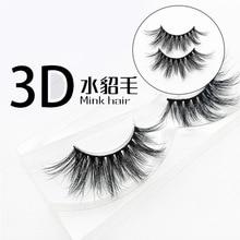 pair hairs 3D natural eyelash handmade