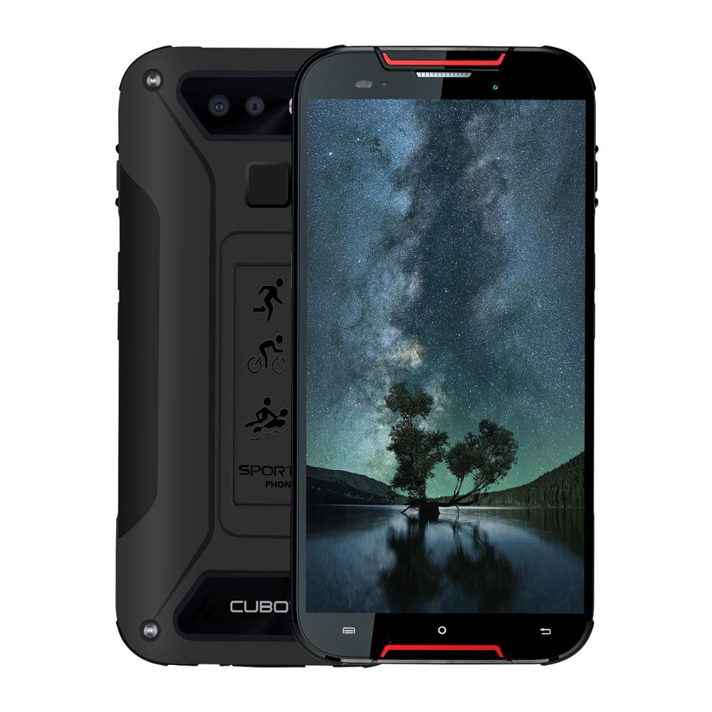 Cubot Quest Lite Android 9.0 3GB 32GB MT6761 Quad Core Sports Phone 5.0'' IP68 Waterproof Face ID 5P Lens Dual Cameras Celular