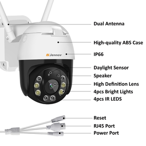 Image 2 - Yoosee אלחוטי IP מצלמה 2MP כיפה חיצוני דו כיוונית אודיו טלוויזיה במעגל סגור 1080P WiFi מצלמה אבטחת וידאו מעקב עמיד למים פאן/הטיה