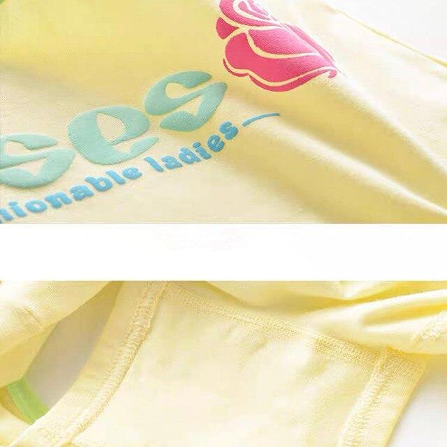 6 Pc/lot filles Boxer slip culottes adolescents sous-vêtements en coton enfants enfants formation Hipster sous-vêtements 10-18Y