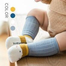 2 Pairs Newborn Baby Socks Anti-slip Non Skid Ankle Socks Baby Toddler Kids Boys Girls All Seasons Cotton Socks New Born 3m 6m
