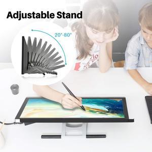 """Image 5 - Huion 21.5 """"GT220 v2 grafik çizim tableti monitör 8192 kalem basıncı profesyonel IPS kalem ekran HD ekran pencereler ve kapılar için mac"""