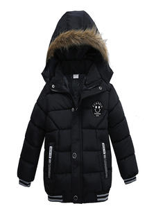 Warm Coat Outerwears Parka Down-Jacket Hooded Girl Winter Child High-Quality NEW Boy