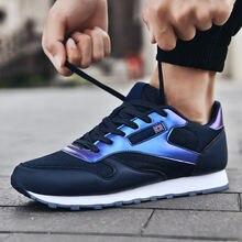 Кроссовки мужские сетчатые легкие повседневная обувь для бега