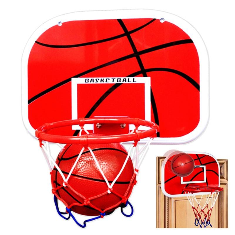 Hanging Basketball Hoop Indoor Basket Ball For Door Mini Basketball Board Home Family Basket Children Game Basketball Toy Set