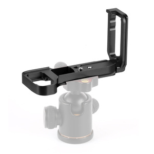Image 2 - L Plate Bracket Camera Hand Grip Camera Holder For SONY A7RIII A7M3 A9 A7R3 with Wrench  Release Baseplate & side plate