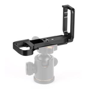 Image 2 - L Plate Bracket Camera Hand Grip Camera Houder Voor Sony A7RIII A7M3 A9 A7R3 Met Wrench Release Grondplaat & Side plaat
