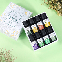 Unclin 10ml 8pcs Essential Oil Set with a gift box Lavender