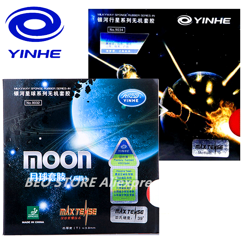 YINHE MOON/ MOON SPEED Galaxy Quick Attack Loop Pops-in Table Tennis Rubber Ping Pong Sponge