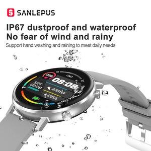 Image 5 - SANLEPUS ساعة ذكية للرجال والنساء ، سوار رياضي مع مراقبة ضغط الدم والأكسجين في الدم لأجهزة Apple و Android ، جديد لعام 2021
