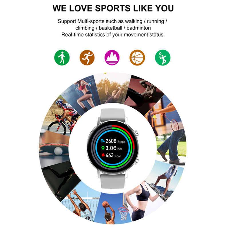 Film gratuit montre intelligente femmes DT96 Smartwatch multi-sports Fitness Tracker moniteur de fréquence cardiaque tension artérielle oxygène VSDT88 SG2 S20