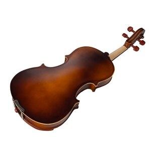 Image 4 - ナオミ音響バイオリン 4/4 フルサイズバイオリンいじる弓ケースブリッジナツメの木のアクセサリー