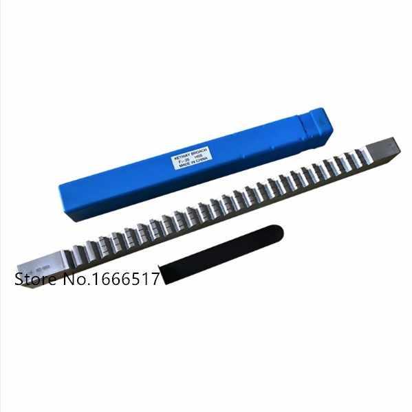 4mm B1 Push-Type Keyway Broache Metric Size HSS Keyway Cutting Tool for CNC Rout