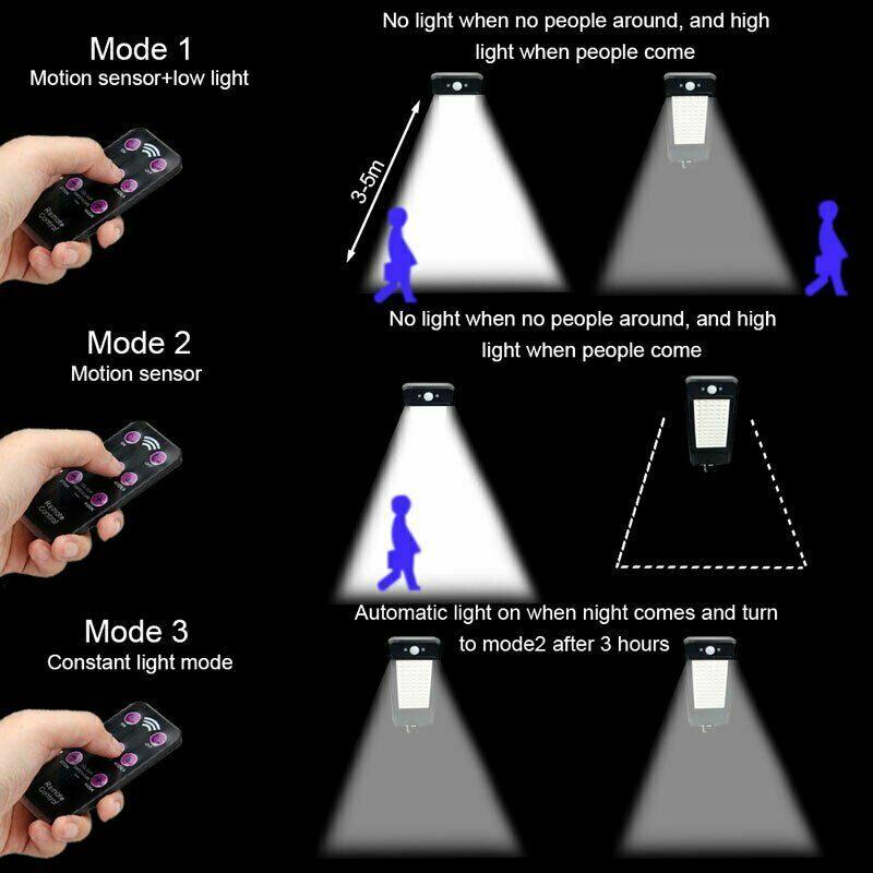 luz de parede pir sensor de movimento