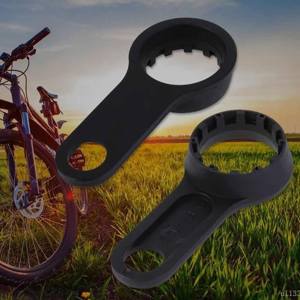 自転車レンチフロントフォークスパナ修復ツールダブルヘッドバイク部品ツール解体レンチための特別なツール XCT XCM XCR