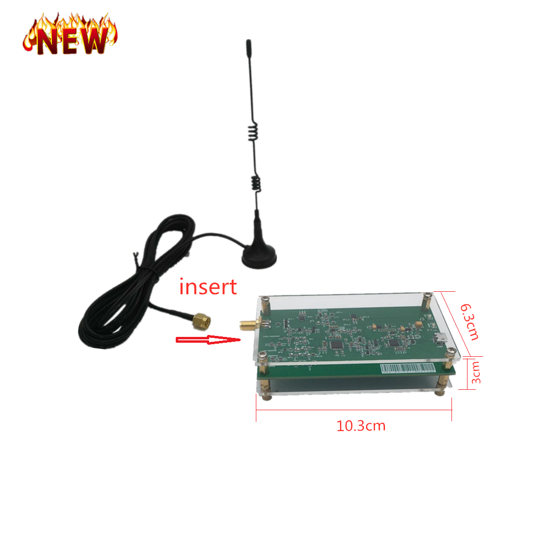 10KHz-2GHz Full-function 12-bit SDR Receiver SDRPLAY RSP1 RSP2 RTL-SDR