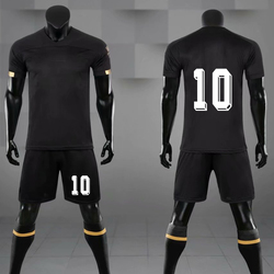 Men Youth Soccer Jersey Uniforms Survetement Breathable Kids Blank Football Sets Sport Training Suit Customize Print Sportswear