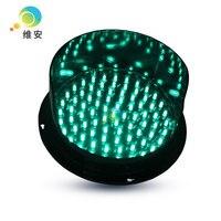 Neue produkte hohe helligkeit 200mm lampe grün mini led verkehrs signal licht