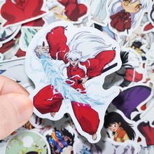 50PCS Cartoon Inuyasha Stickers Crafts And Scrapbooking stickers kids toys book Decorative sticker DIY Stationery car stickers tropical rain forest flamingo decorative sticker collection for scrapbooking calendars arts kids diy crafts
