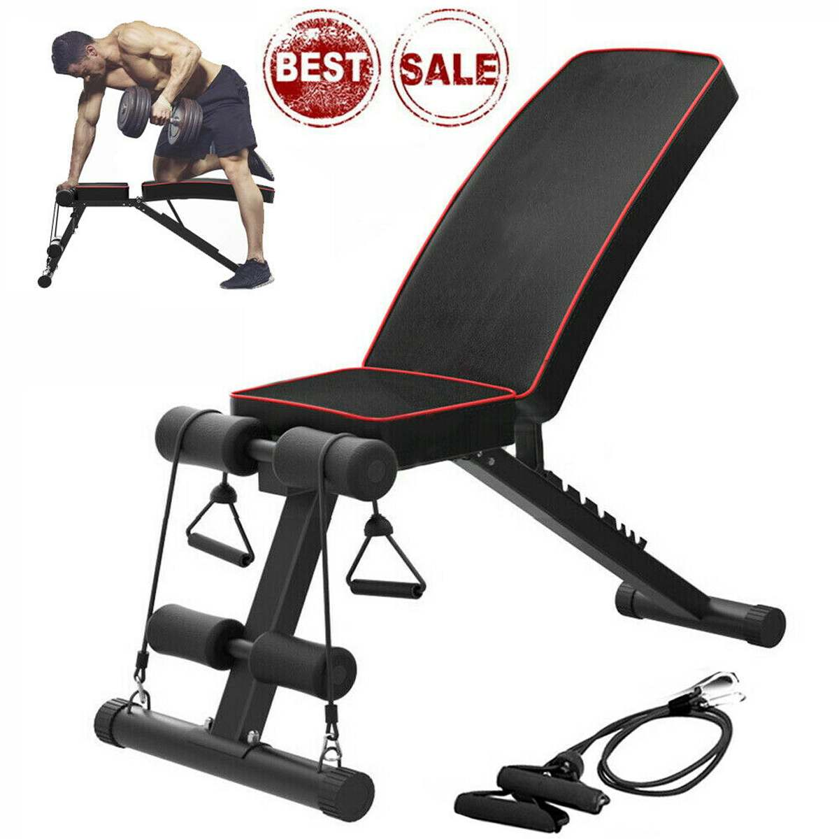 Permalink to NEW Household Fitness Workout Gym Exercise Training Equipment Indoor Fitness Foldable Fitness Stool Dumbbell Bench Sit Up Stool