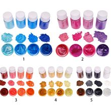 Glowing-Powder Pigment-Set Jewelry Epoxy-Material Crystal Mixed-Color Resin Luminous