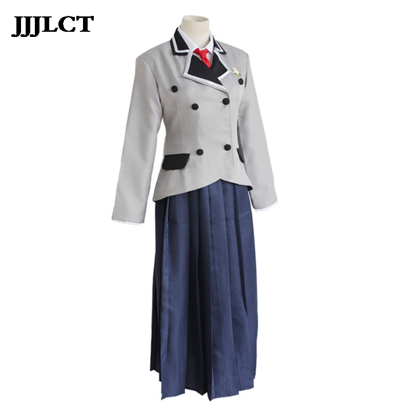 a Boring World without Dirty Jokes Anna COS Clothing Uniform Cosplay Anime Costume Halloween Performance Cosplay Costume Women image