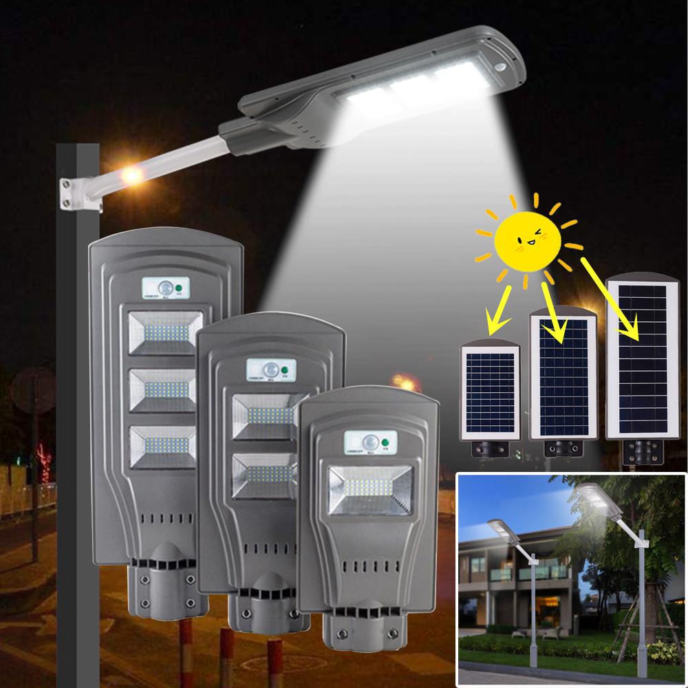 Solar Street Light LED Wall Lamp IP65 Waterproof Outdoor Radar Motion for Garden Yard Street Flood Lamp Solar Lights 20W 40 60W