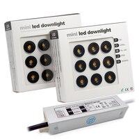 Faretto del bagno della camera da letto del governo del riflettore del soffitto della luce 12V del punto di 1W IP65 Downlight LED con il trasformatore di AC100-265V