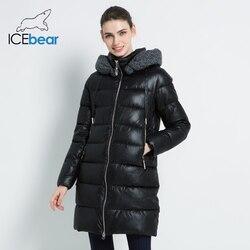 2019 Nuovo Rivestimento di Inverno delle Donne Con Cappuccio Donna Abbigliamento Caldo Cappotto Antivento Signore delle Donne Parka Marchio di Abbigliamento GWD19600I