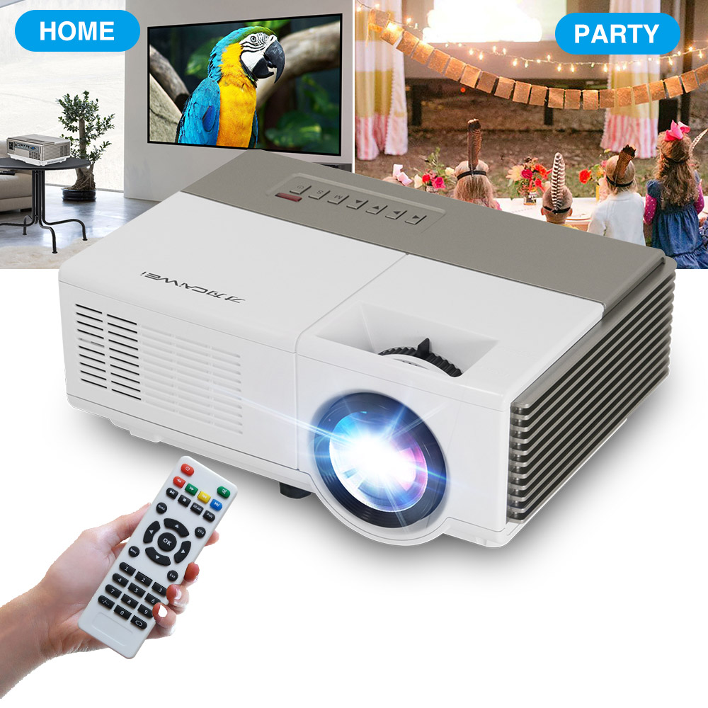 CAIWEI A3 LED Mini Wireless Bluetooth HDMI Projector Portable Home Theater Smart Android WiFi Projector Multimedia Outdoor Movie - 4