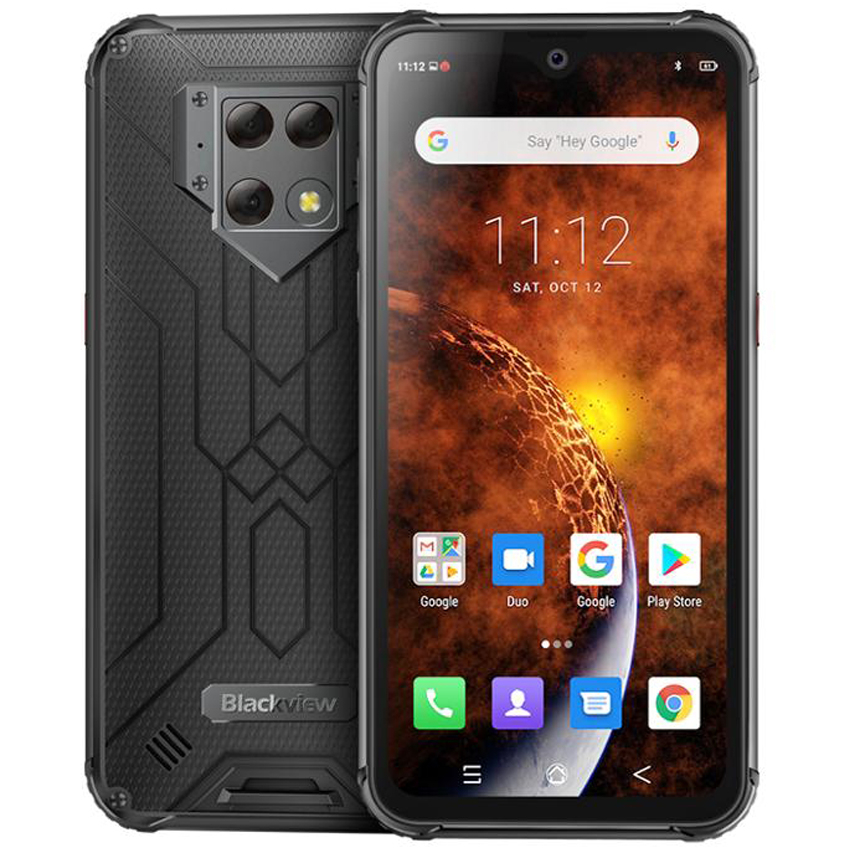 Blackview BV9800 NFC 6GB RAM 128GB ROM 6580mAh Android 9.0 shockproof mobile phone 4G Rugged Smartphone 6.3 Helio P70 Octa Core image