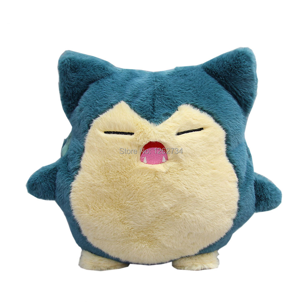 Snorlax Warm-hand Pillow 30CM Plush Doll Figure Toy Retail