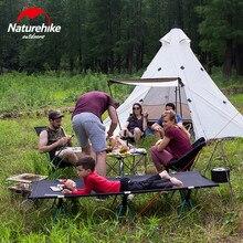 Naturehike พีระมิดเต็นท์กลางแจ้ง Camping เต็นท์พีระมิด Camping เต็นท์ขนาดใหญ่ Windproof กันฝนเต็นท์กันน้ำ