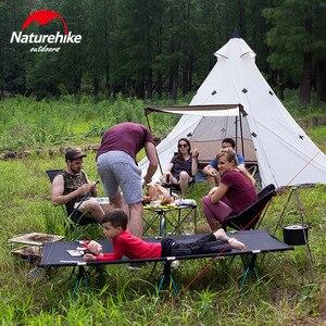 Image 1 - Naturehike ピラミッドテント屋外のキャンプのテントピラミッドキャンプテント大容量防風防雨防水家族のテント