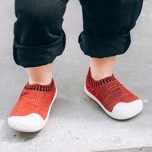 Детская обувь Kalupao, дышащая нескользящая обувь для девочек и мальчиков, с мягкой подошвой, для начинающих ходить, 2019