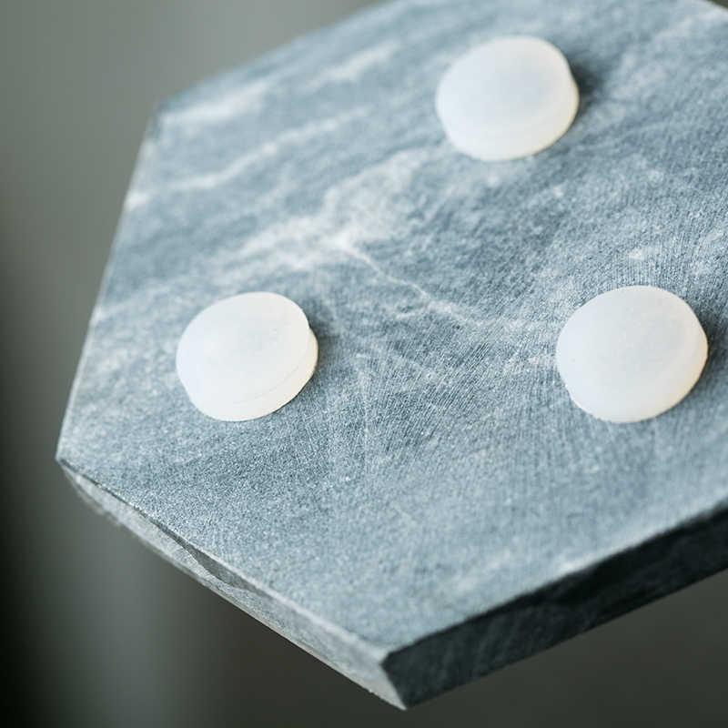 Nordic marmer Wijn coaster zeshoekige koffie mok kom mat isolatie pad decoratie lade