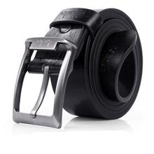 New Mens Leather Belts Single Prong Belt Business Casual Dress Metal Buckle ceinture homme men belt  cinturones para hombre