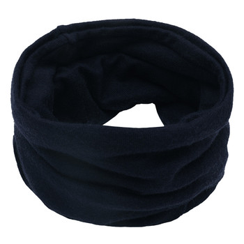 Sleeper #P501 2019 FASHION Unisex Solid Color Neck Warmer Fleece Knitted Scarf Scarves for boy girls Shawl Cowl шарф winter 8