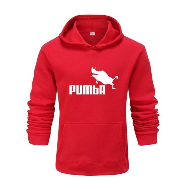 2020 hot funny cute Hoodies men women Pumba hoodie Sweatshirt Fashion casual streetwear cool lovely costume hoodies men 5