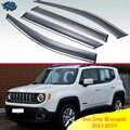 Für Jeep Renegade 2015-2019 Auto Zubehör Kunststoff Außen Visor Vent Shades Fenster Sonne Regen Schutz Deflektor 4 stücke