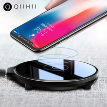 QIIHII 5W Wireless Fast Charger For Samsung S10 Qi iphone 8 Plus X Mobile Phone Huawei Xiaomi