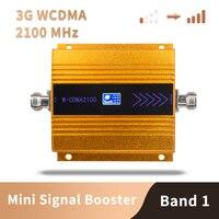 3 جرام WCDMA 2100 ميجا هرتز موبايل هاتف محمول إشارة الهاتف الداعم مكرر كسب فقط 65 Dbi شاشة الكريستال السائل ، هوائي غير المدرجة-في معززات الإشارة من الهواتف المحمولة ووسائل الاتصالات على