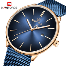 NAVIFORCE Couple Watch Mens Watch Simple Luxury Quartz Wrist