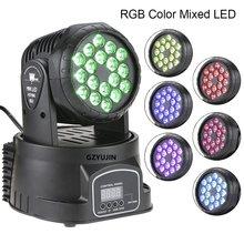 4 adet/grup disko ışık 18*3w led hareketli kafa noel süslemeleri için