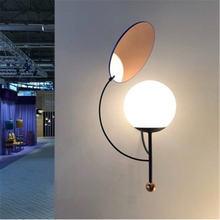 Домашняя светодиодная Ретро настенная лампа украшение интерьера