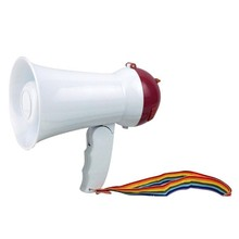 Portable Foldable Handheld Megaphone Loud Speaker Amplifier Recorder Bullhorn(China)