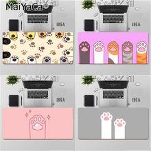 Maiyaca Top Quality Cute baby cat paw Natural Rubber Gaming mousepad Desk Mat Free Shipping Large Mouse Pad Keyboards Mat